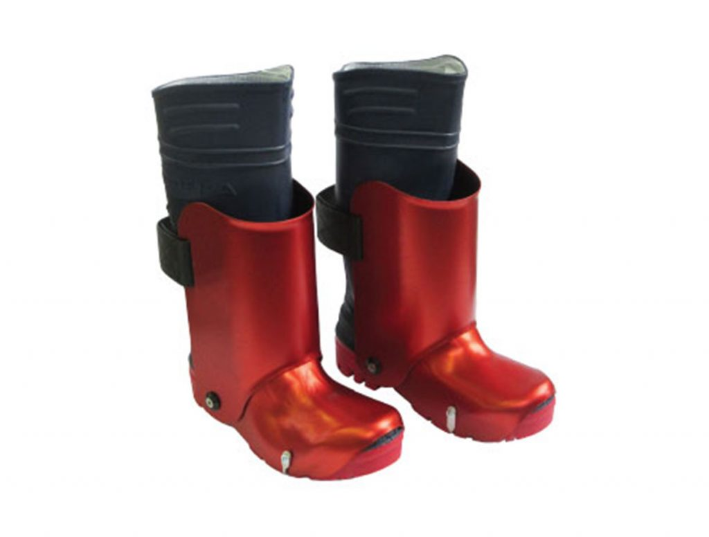 Booth with fully protected forefoot protection 3000 bar