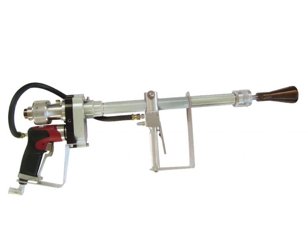 BM2750-S1-24  Manual pistol with rotating terminal.