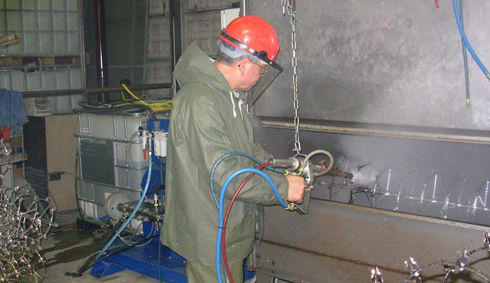 Impianto semi automatico