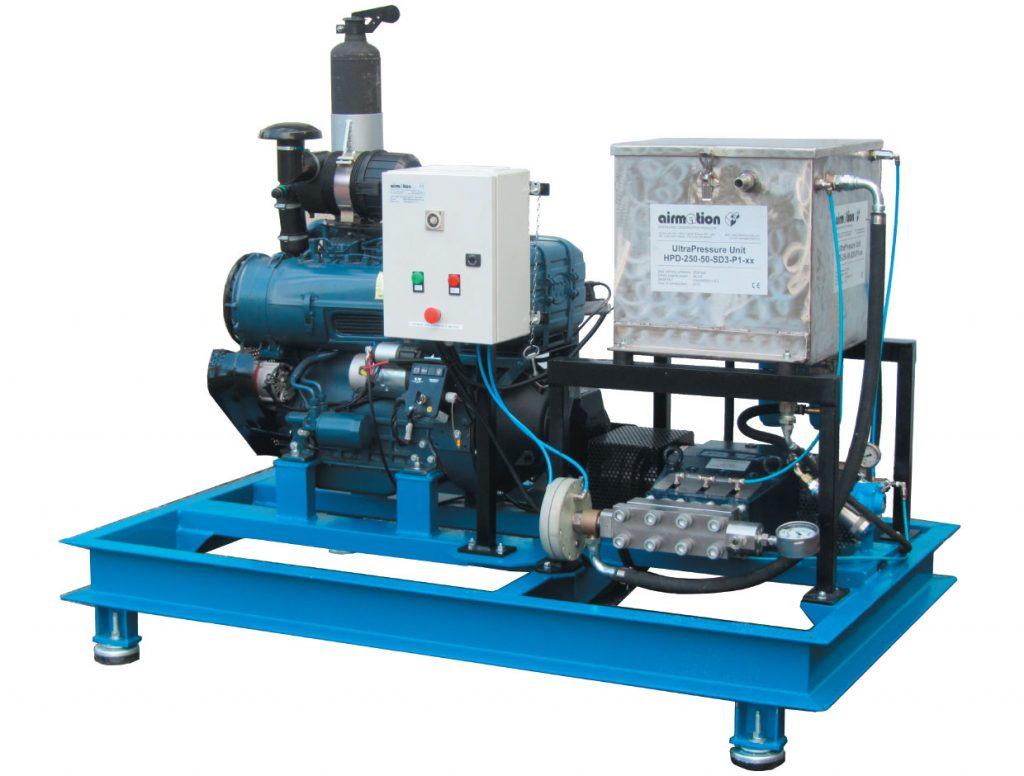 Unità ULTRA CLEAN HPD-250-60-SD3-P1-xx